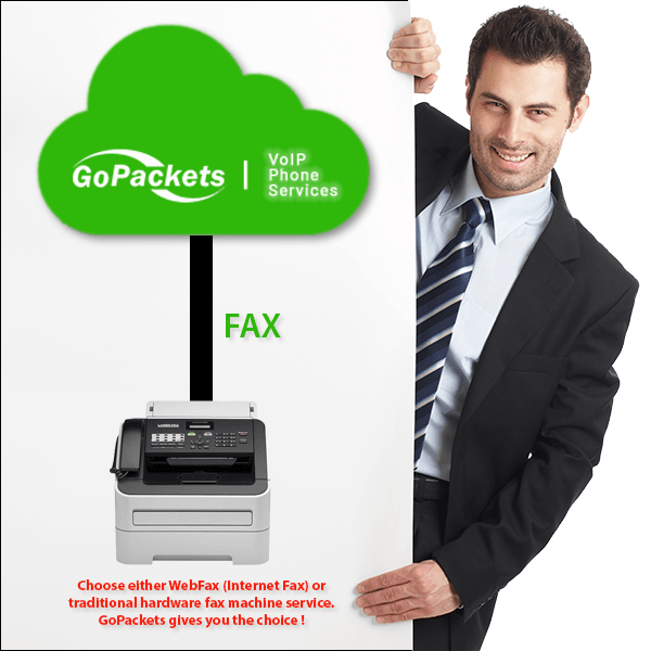 Fax and WebFax Service from GoPackets