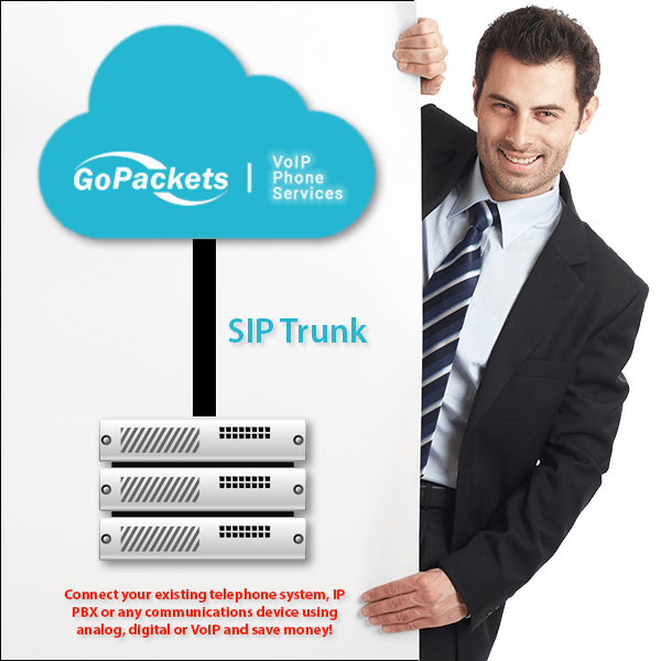SIP Trunk Service from GoPackets